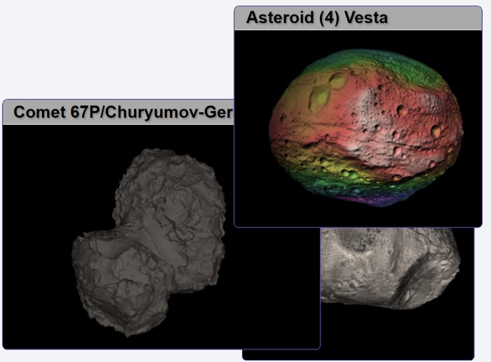 3D Asteroid Catalogue
